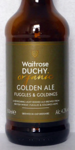 Duchy Originals Organic Golden Ale