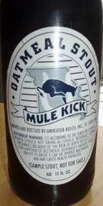 Mule Kick Oatmeal Stout