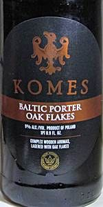 Komes Porter Bałtycki Płatki Dębowe (Baltic Porter Oak Flakes)