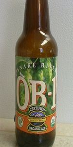 Organic Beer Number 1 (OB-1) Certified Organic Brown Ale
