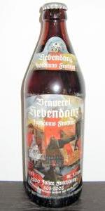 Jubiläums Festbier 1200 Jahre Forchheim