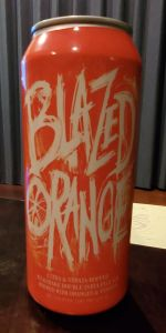 Blazed Orange Milkshake