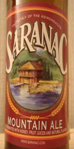 Saranac Mountain Ale