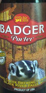 Badger Porter