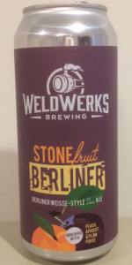 Stone Fruit Berliner
