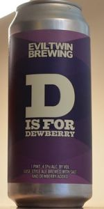 D Is For Dewberry