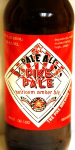 Pike Pale Heirloom Amber Ale