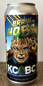 This Is Your Brain On Hops: Amarillo & Galaxy
