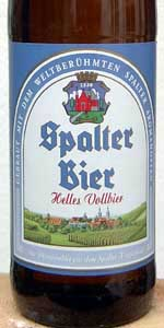 Spalter Helles Vollbier