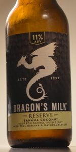 Dragon's Milk Reserve Banana Coconut