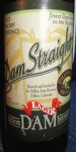 Dam Straight Lager