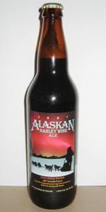 Alaskan Barley Wine (Pilot Series)