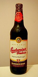 Budweiser Budvar Czech Dark Lager