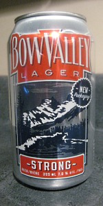 Bow Valley Strong Lager