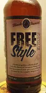 Black Diamond Free Style Belgian Blonde Ale