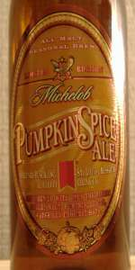 Michelob Pumpkin Spice Ale