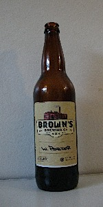 Brown's Whiskey Porter
