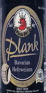 Plank Bavarian Hefeweizen