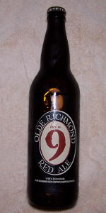 Olde Richmond Batch No. 9 Red Ale