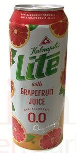 Kalnapilis Lite With Grapefruit Juice 0.0