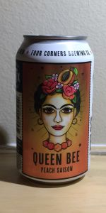 Queen Bee Peach Saison