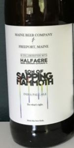 Maine Beer / Half Acre - Son of Sapping Mammoth