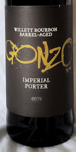Barrel Aged Gonzo Imperial Porter