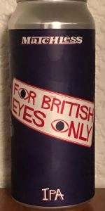 For British Eyes Only