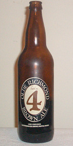 Olde Richmond Batch No. 4 Brown Ale