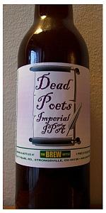 Ringneck Dead Poets Imperial IPA