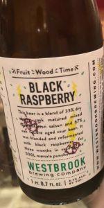 Fruit/Wood/Time: Black Raspberry