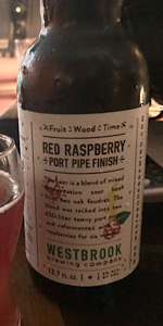 Fruit/Wood/Time: Red Raspberry - Port Pipe Finish