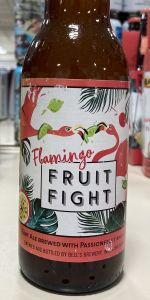 Larry's Latest Flamingo Fruit Fight