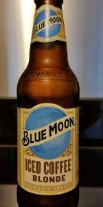 Blue Moon Iced Coffee Blonde