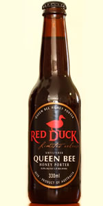 Red Duck Queen Bee Honey Porter