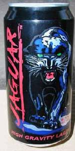 Jaguar High Gravity Lager