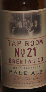 Moe's Backroom Pale Ale