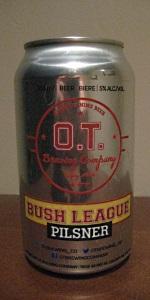 Bush League Pilsner