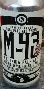 Double Dry Hopped M-43