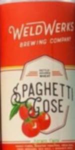 Spaghetti Gose