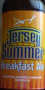 Jersey Summer Breakfast Ale