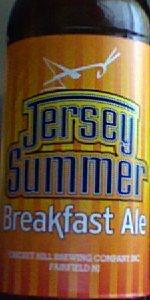Jersey Summer Breakfast Ale