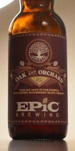 Oak and Orchard - Cabernet Sauvignon (Cherry, Blackberry, Black Currant)