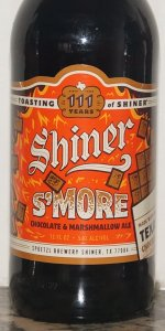 Shiner S'more Chocolate & Marshmallow Ale
