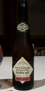 Brandy Barrel-Aged Belgian Style Golden Ale