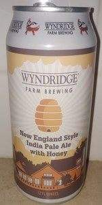 New England Style India Pale Ale With Honey