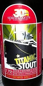 Titanic Strong Stout
