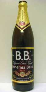 B.B. Dark Bohemia Beer - 1795 Original Czech Dark Lager