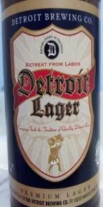 Detroit Lager