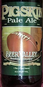Pigskin Pale Ale